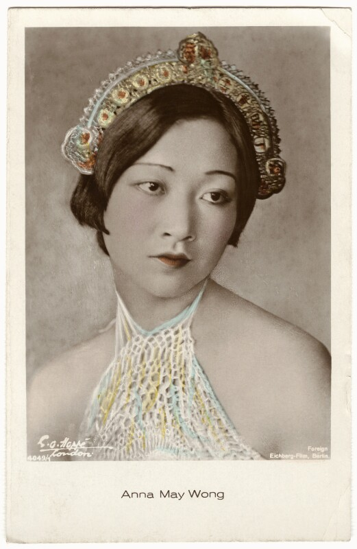 Anna May Wong, by Emil Otto ('E.O.') Hoppé, 1926 - NPG x134423 - © 2017 E.O. Hoppé Estate Collection / Curatorial Assistance Inc.