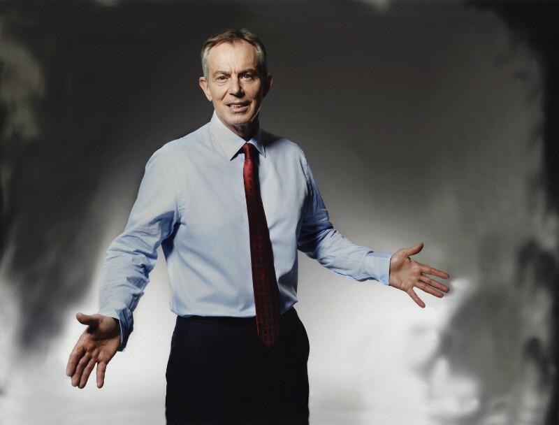 Tony Blair, by John Swannell, 2009 - NPG x134394 - © John Swannell / Camera Press