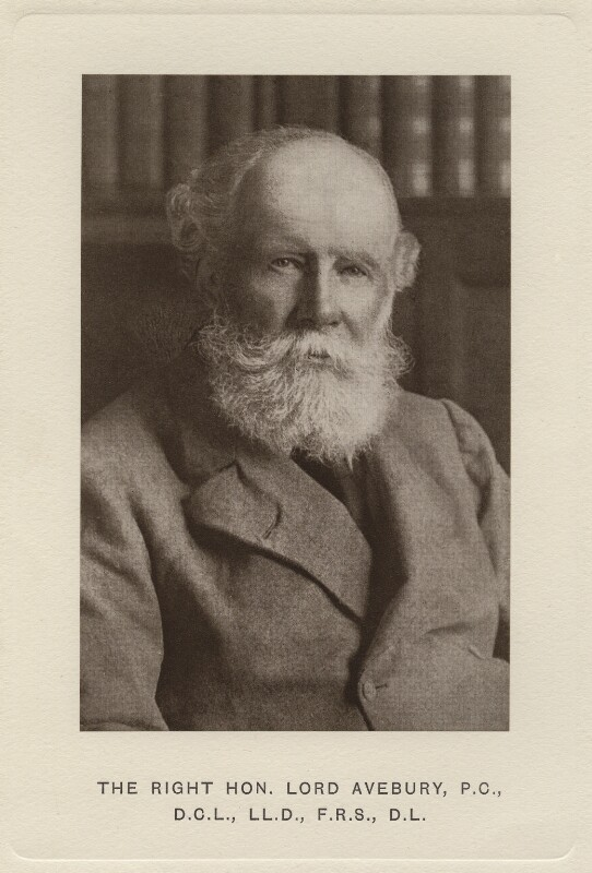 John Lubbock, 1st Baron Avebury, by Unknown photographer, 1900s - NPG x138 - © National Portrait Gallery, London