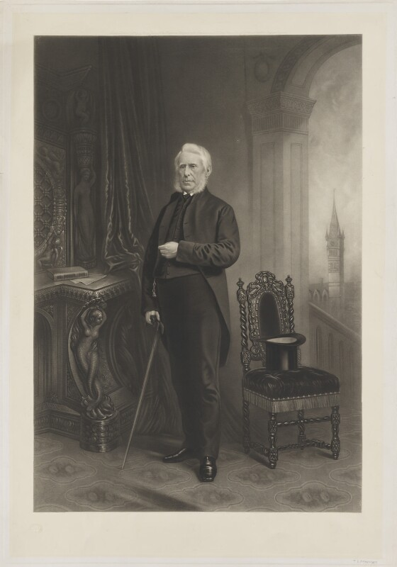 Joseph Pease, by Thomas Lewis Atkinson, published by  Henry Graves & Co, published 18 December 1874 - NPG D39582 - © National Portrait Gallery, London