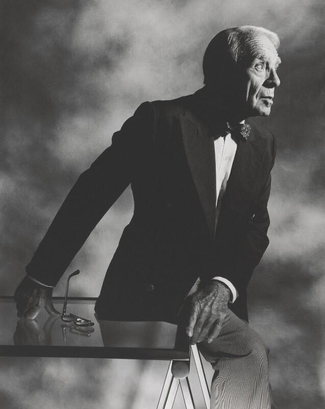 Horst P. Horst, by John Swannell, 1986 - NPG x87597 - © John Swannell / Camera Press