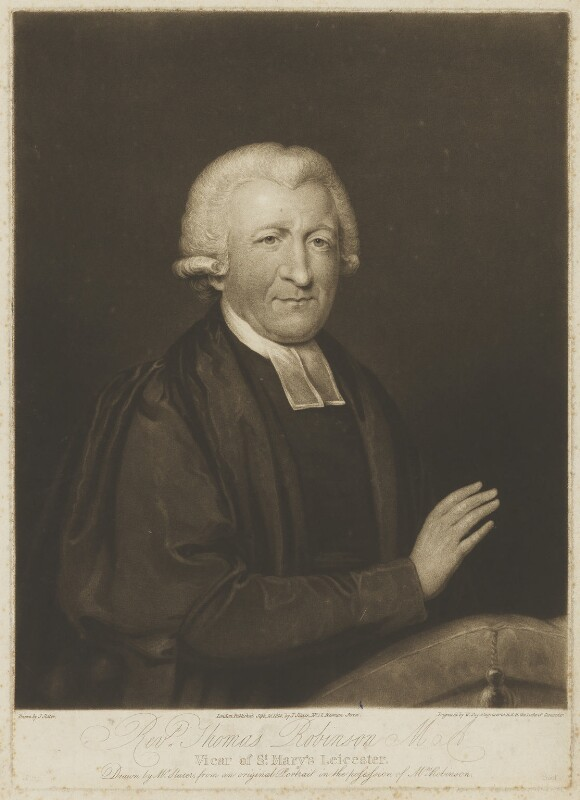 Thomas Robinson, by William Say, published by and after  Joseph Slater, published 15 September 1814 - NPG D39807 - © National Portrait Gallery, London