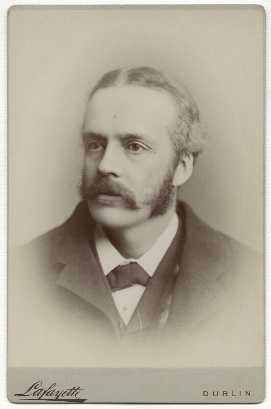 Arthur James Balfour, 1st Earl of Balfour, by Lafayette, circa 1888 - NPG x134495 - © National Portrait Gallery, London