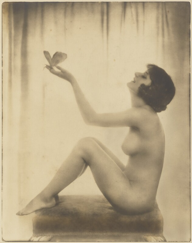 'The Butterfly', by Dorothy Wilding, 1920s? - NPG x13684 - © William Hustler and Georgina Hustler / National Portrait Gallery, London