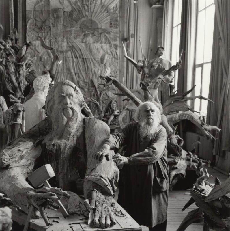 Sergei Konenkov, by Ida Kar, 1962 - NPG x134508 - © National Portrait Gallery, London