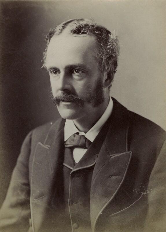 Arthur James Balfour, 1st Earl of Balfour, by Elliott & Fry, 1889 - NPG x9487 - © National Portrait Gallery, London