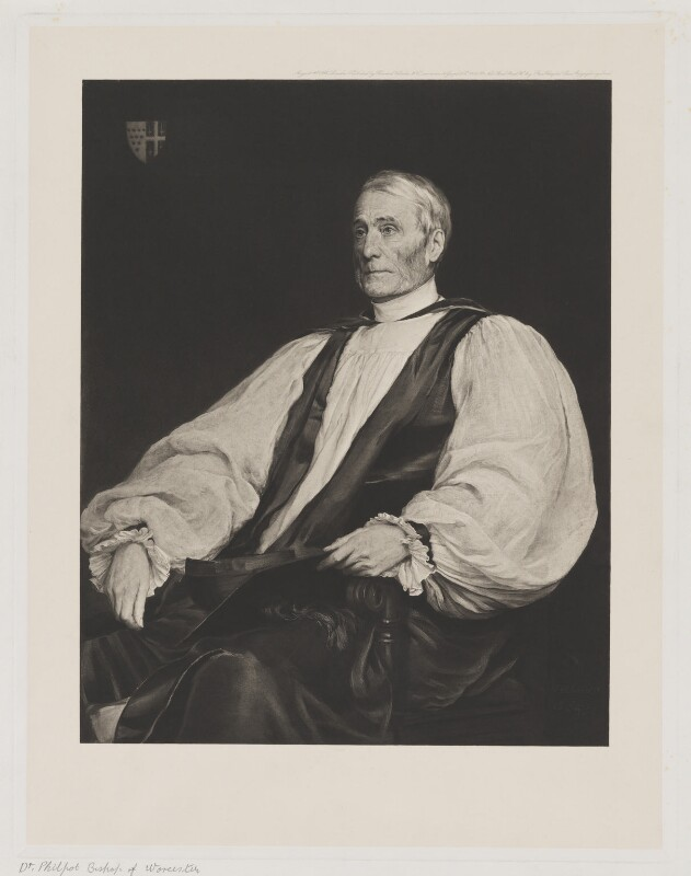 Henry Philpott, published by Boussod, Valadon & Co, after  Walter William Ouless, (1884) - NPG D40212 - © National Portrait Gallery, London
