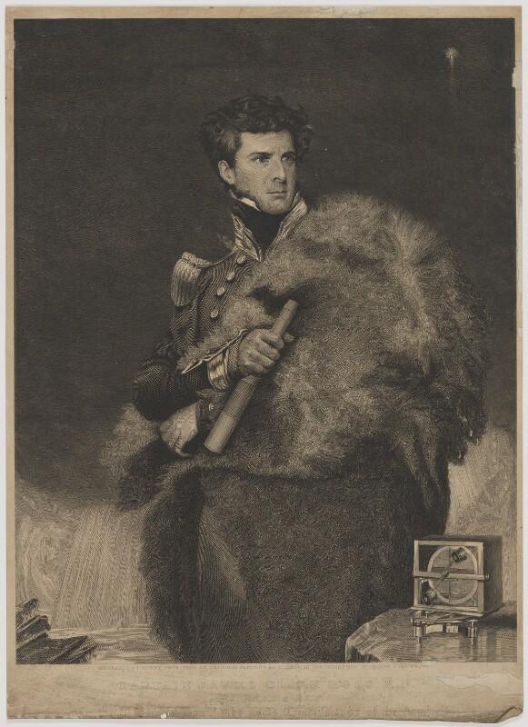 Sir James Clark Ross, by Henry Richard Cook, after  John Robert Wildman, (1834) - NPG D39884 - © National Portrait Gallery, London