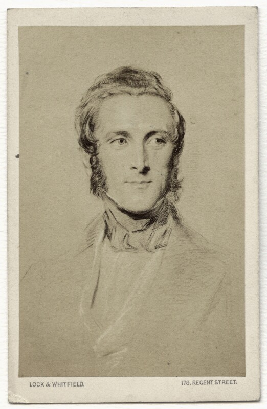 James Andrew Broun Ramsay, 1st Marquess of Dalhousie, by Lock & Whitfield, after  George Richmond, after 1856 (circa 1849) - NPG x134620 - © National Portrait Gallery, London