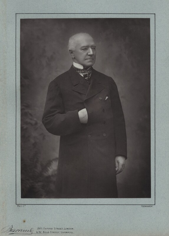 Henry Hawkins, Baron Brampton, by Herbert Rose Barraud, published by  Eglington & Co, published 1889 - NPG x4266 - © National Portrait Gallery, London
