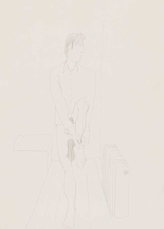 Stuart Pearson Wright: study for film installation ('Moment in a Man's Day'), by Stuart Pearson Wright, 2005 - NPG 6745(7) - © National Portrait Gallery, London