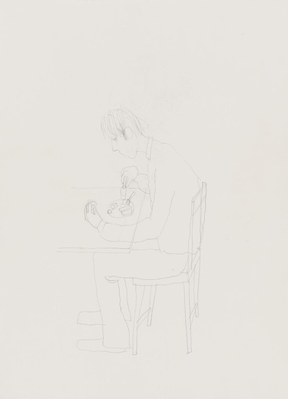 Stuart Pearson Wright: study for film installation ('Moment in a Man's Day'), by Stuart Pearson Wright, 2005 - NPG 6745(9) - © National Portrait Gallery, London