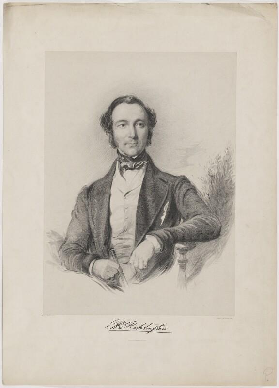 Evelyn Henry Frederick Pocklington, by Edward Morton, printed by  Hullmandel & Walton, after  George Richmond, (1846) - NPG D40288 - © National Portrait Gallery, London