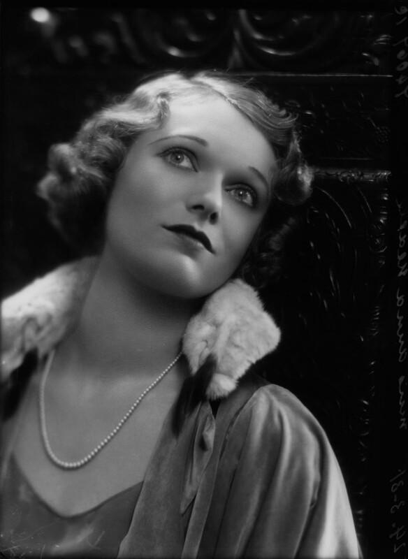 Anna Neagle, by Bassano Ltd, 24 March 1931 - NPG x85800 - © National Portrait Gallery, London