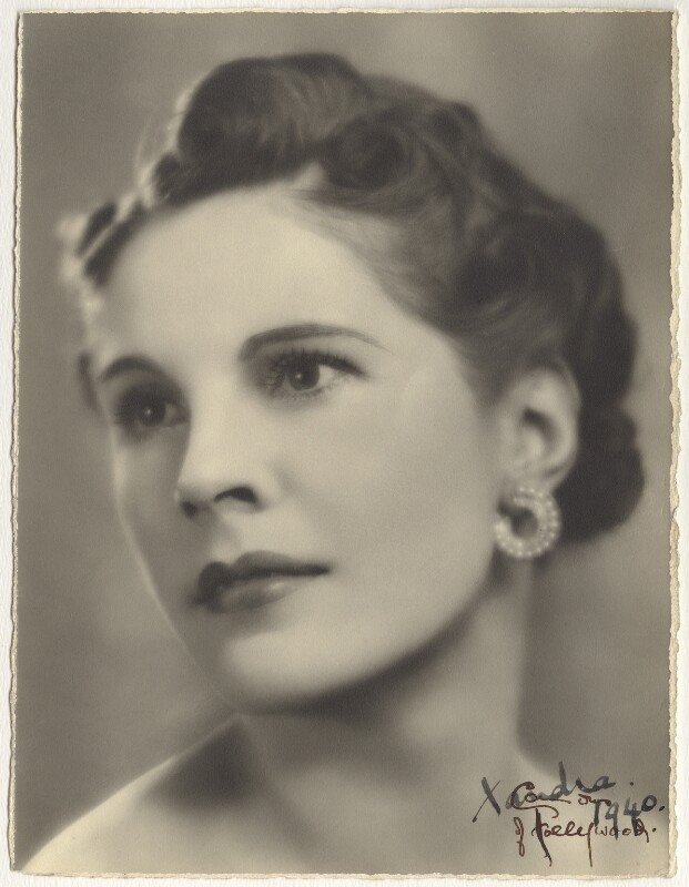 Lady Alexandra Henrietta Louisa Haig (later Alexandra Trevor-Roper, Lady Dacre), by Cannons of Hollywood (George Frederic Cannons), 1936 - NPG x134559 - © estate of George Frederick Cannons