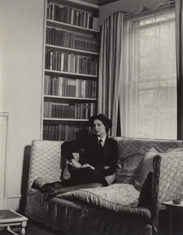 Lady Alexandra Henrietta Louisa Haig (later Alexandra Trevor-Roper, Lady Dacre), by Tunbridge & Sedgwick, early 1940s - NPG x134563 - © reserved; collection National Portrait Gallery, London