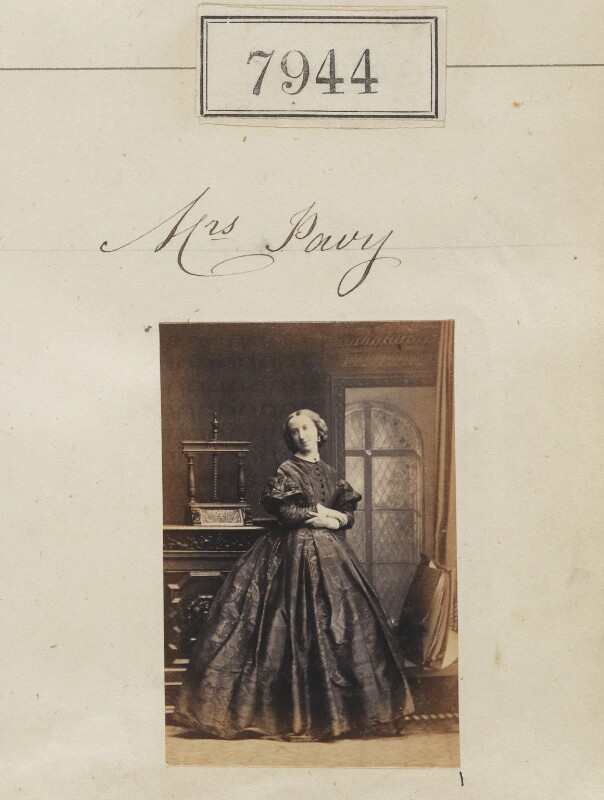 Julia Pavy (née Oliver), by Camille Silvy, 4 May 1862 - NPG Ax57782 - © National Portrait Gallery, London