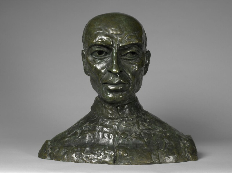 Jawaharlal Nehru, by Jacob Epstein, 1948 - NPG 6905 - Photograph © National Portrait Gallery, London
