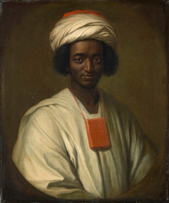 Ayuba Suleiman Diallo (Job ben Solomon), by William Hoare, 1733 - NPG L245 - OM.762.  Orientalist Museum, Doha.