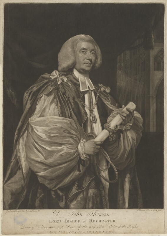 John Thomas, by and published by Thomas Park, after  Sir Joshua Reynolds, published 1 February 1788 (1781) - NPG D40413 - © National Portrait Gallery, London