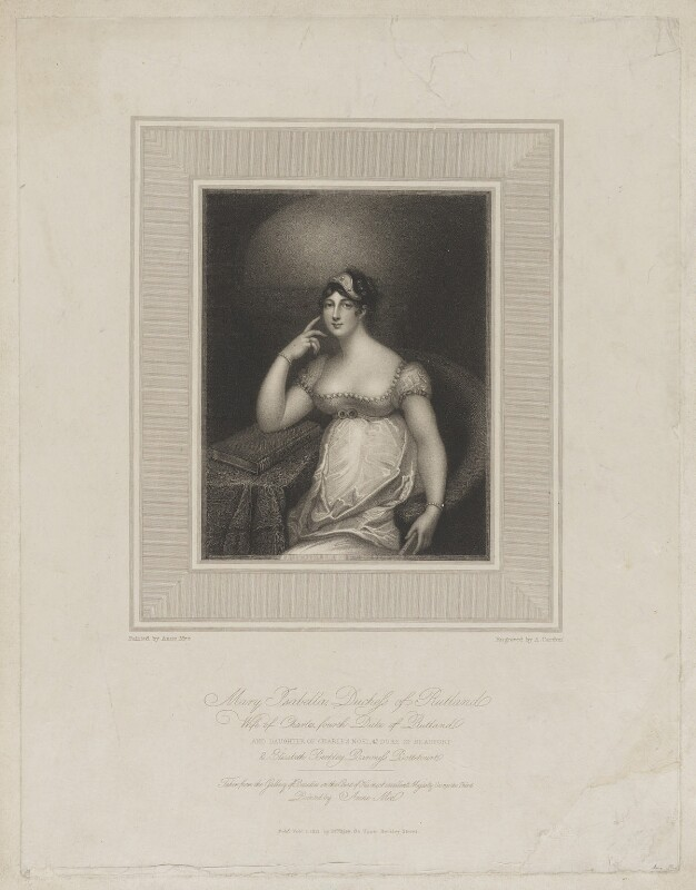 Charles Manners, 4th Duke of Rutland, by Anthony Cardon, published by and after  Anne Mee (née Foldsone), published 1 February 1812 - NPG D39955 - © National Portrait Gallery, London