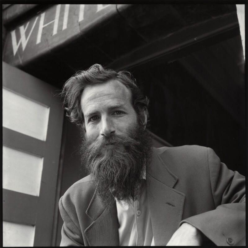 Alan Davie, by Ida Kar, 1959 - NPG x134683 - © National Portrait Gallery, London