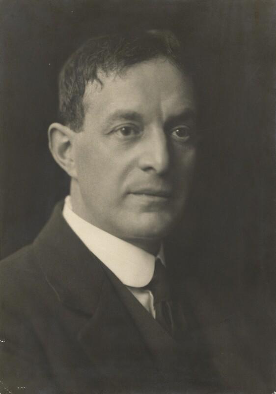 Walter de la Mare, by Emil Otto ('E.O.') Hoppé, 12 October 1920 - NPG P1389 - © 2017 E.O. Hoppé Estate Collection / Curatorial Assistance Inc.
