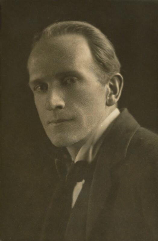 A.A. Milne, by E.O. Hoppé, 1916 - NPG P1396 - © 2018 E.O. Hoppé Estate Collection / Curatorial Assistance Inc.