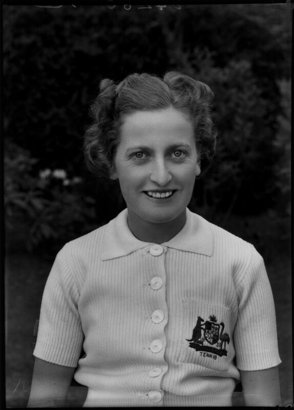 Nell Hopman, by Bassano Ltd, 29 April 1938 - NPG x154851 - © National Portrait Gallery, London