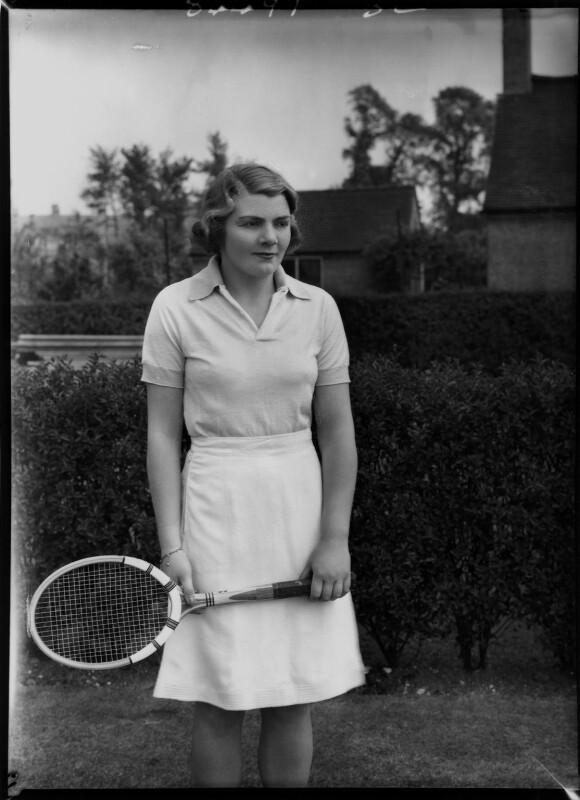 Joan Ingram, by Bassano Ltd, 16 June 1938 - NPG x154870 - © National Portrait Gallery, London