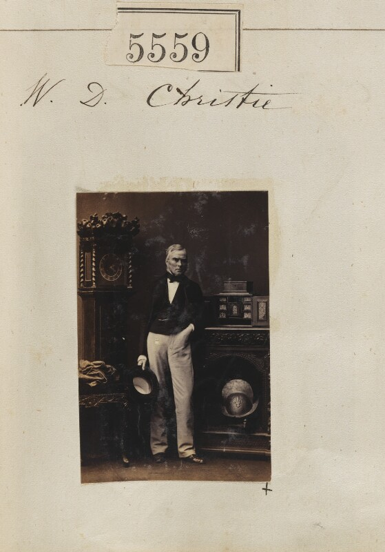 William Dougal Christie, by Camille Silvy, 20 August 1861 - NPG Ax55514 - © National Portrait Gallery, London