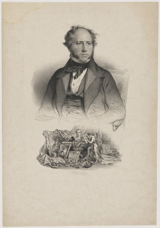 John Sainsbury, by Antoine Maurin, or by  Nicolas Eustache Maurin, printed by  François Séraphin Delpech, 1845 or after - NPG D39979 - © National Portrait Gallery, London