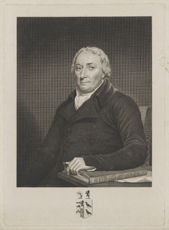 Sir John Kynaston Powell, Bt, by James Stow, after  George Perfect Harding, after  Robert Muller, published 1 May 1824 - NPG D40457 - © National Portrait Gallery, London