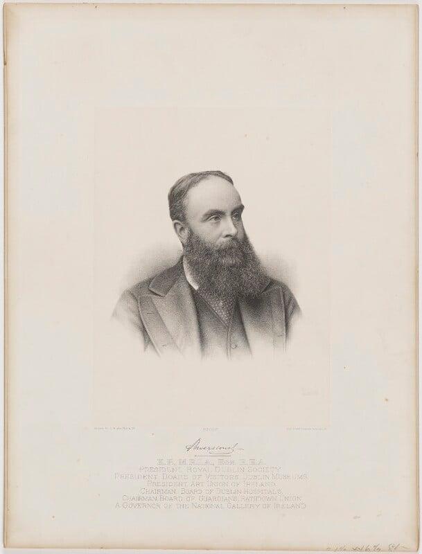 Mervyn Wingfield, 7th Viscount Powerscourt, by C.W. Walton & Co, 1860s or 1870s - NPG D40464 - © National Portrait Gallery, London