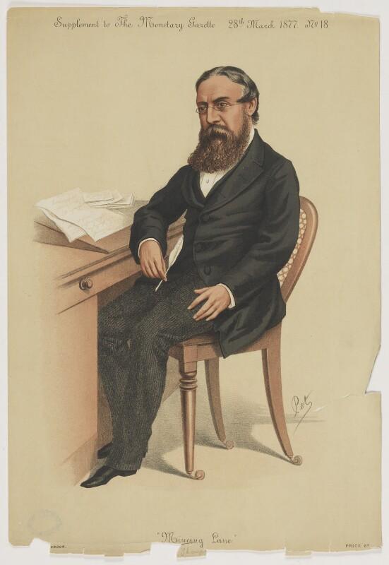 William James Thompson, by 'Pet', published 28 March 1877 - NPG D40541 - © National Portrait Gallery, London