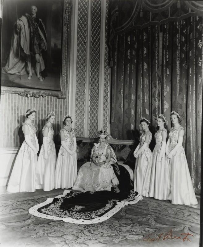 Queen Elizabeth II, by Cecil Beaton, 2 June 1953 - NPG P1454 - © V&A Images