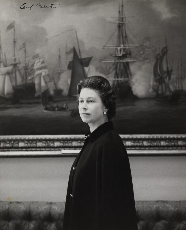 Queen Elizabeth II, by Cecil Beaton, October 1968 - NPG P1491 - © V&A Images