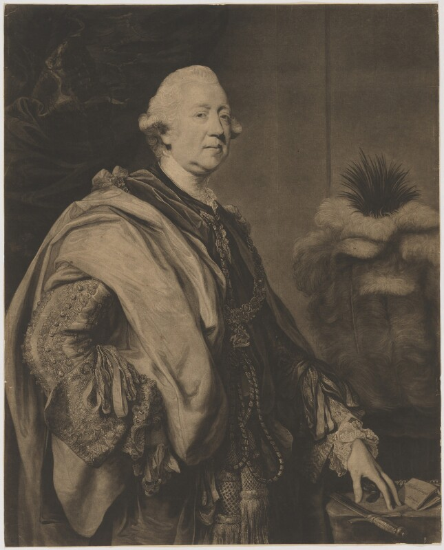 Richard Grenville-Temple, 2nd Earl Temple, by William Dickinson, after  Sir Joshua Reynolds, circa 1778 (1775-1776) - NPG D40507 - © National Portrait Gallery, London