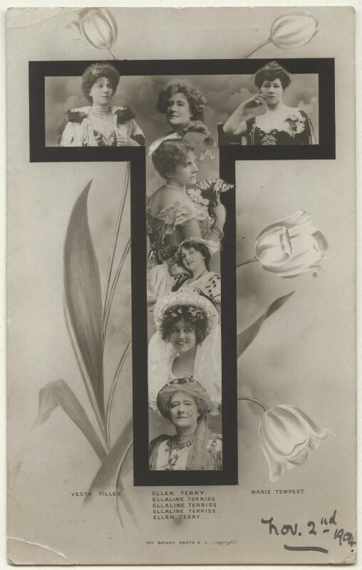 Letter 'T', published by Rotary Photographic Co Ltd, circa 1904 - NPG Ax160168 - © National Portrait Gallery, London