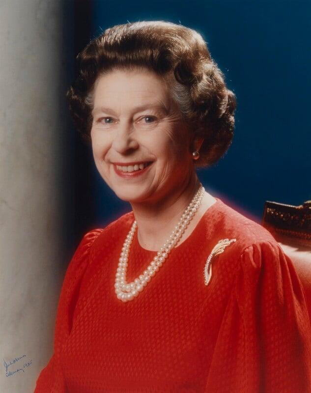 NPG P1576; Queen Elizabeth II - Portrait - National ...