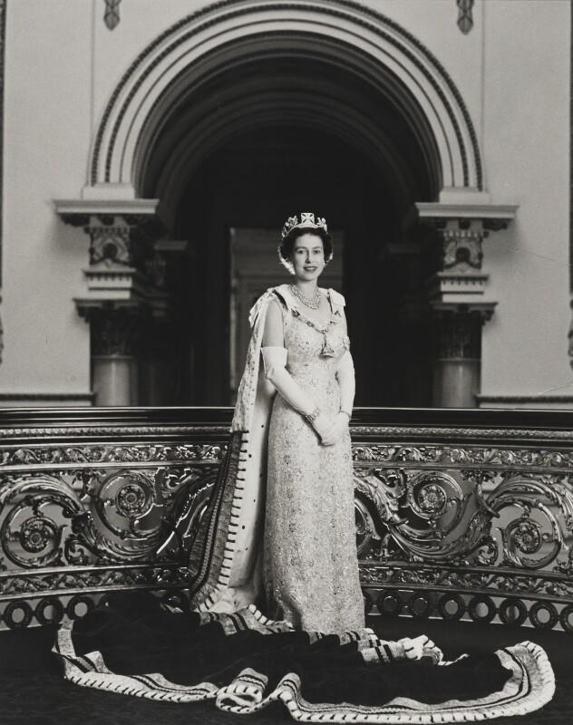 Queen Elizabeth II, by Lord Snowdon, 1958 - NPG P1644 - © Armstrong Jones