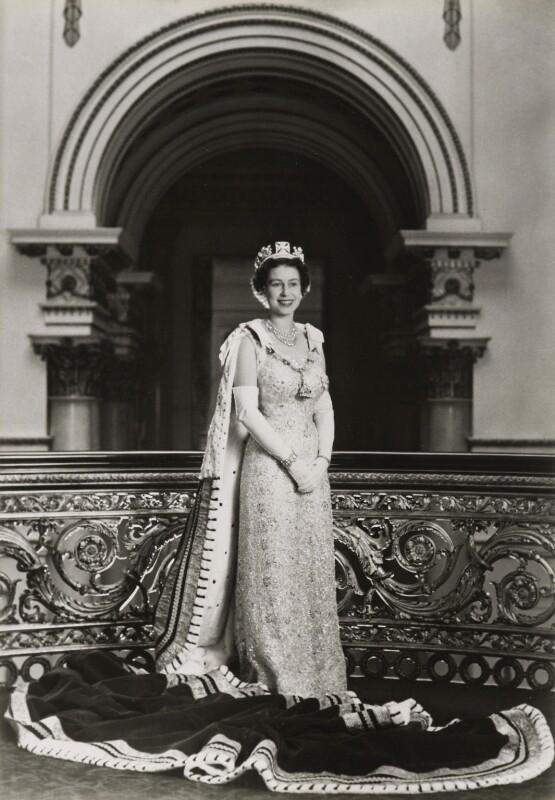 Queen Elizabeth II, by Lord Snowdon, 1958 - NPG P1645 - © Armstrong Jones