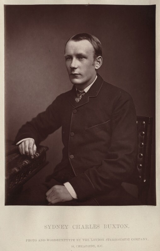Sydney Charles Buxton, Earl Buxton, by London Stereoscopic & Photographic Company, 1870s-1880s - NPG x134745 - © National Portrait Gallery, London