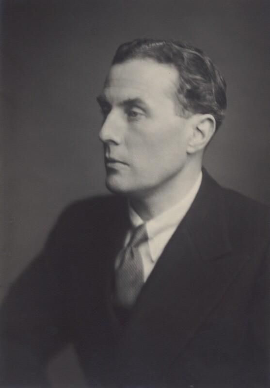 George Harcourt Johnstone, 3rd Baron Derwent, by Walter Stoneman, March 1947 - NPG x167108 - © National Portrait Gallery, London