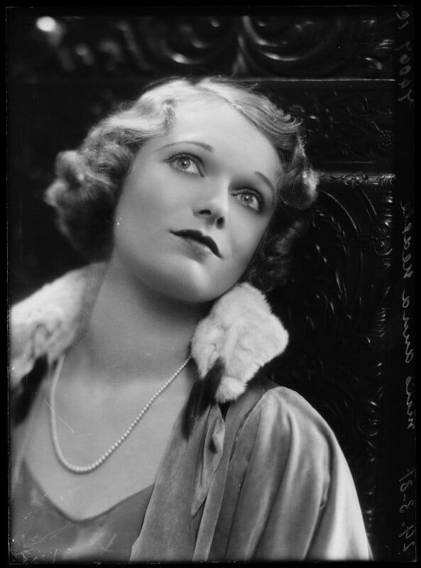 Anna Neagle, by Bassano Ltd, 24 March 1931 - NPG x154972 - © National Portrait Gallery, London