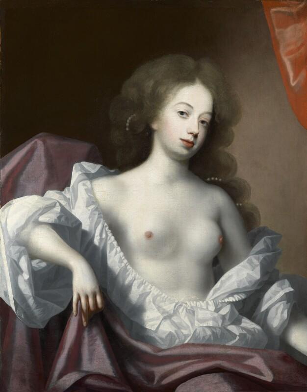 Nell Gwyn, attributed to Simon Verelst, circa 1670 - NPG L248 - Photograph: © National Portrait Gallery, London