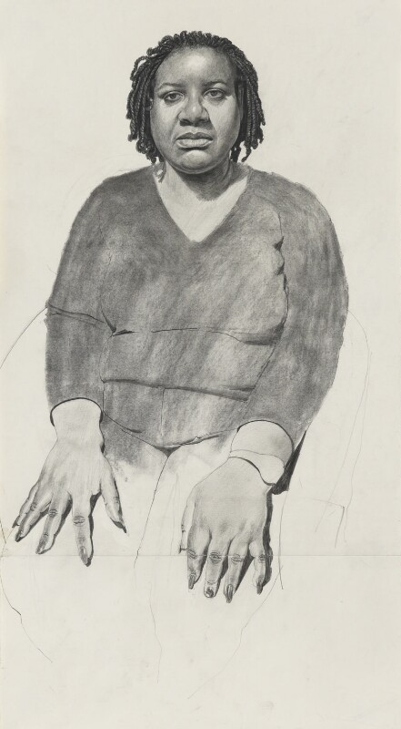 Diane Abbott, by Stuart Pearson Wright, 2006 - NPG 6927 - © National Portrait Gallery, London