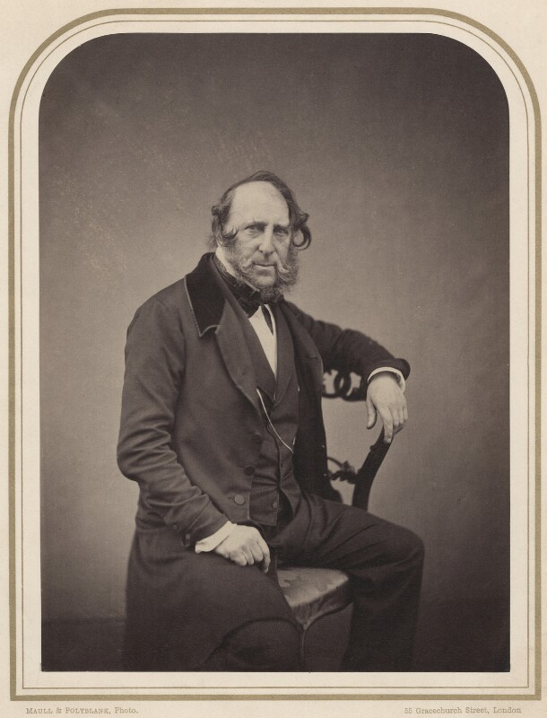 George Cruikshank, by Maull & Polyblank, circa 1857 - NPG x134784 - © National Portrait Gallery, London
