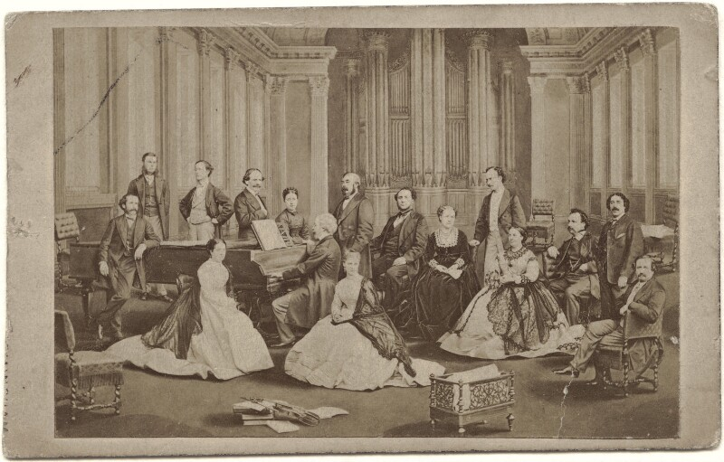The Birmingham Musical Festival of 1867, by Henry Joseph Whitlock, 1868 - NPG x134785 - © National Portrait Gallery, London