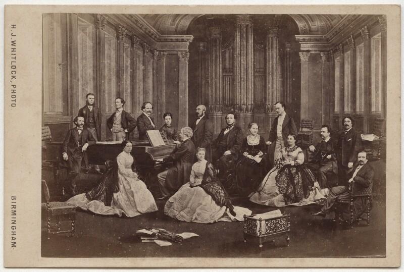 The Birmingham Musical Festival of 1867, by Henry Joseph Whitlock, 1868 - NPG x134786 - © National Portrait Gallery, London